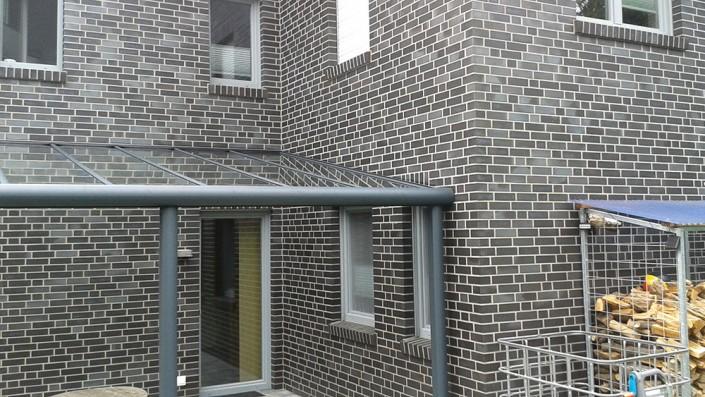 Eingang Überdachung Glas