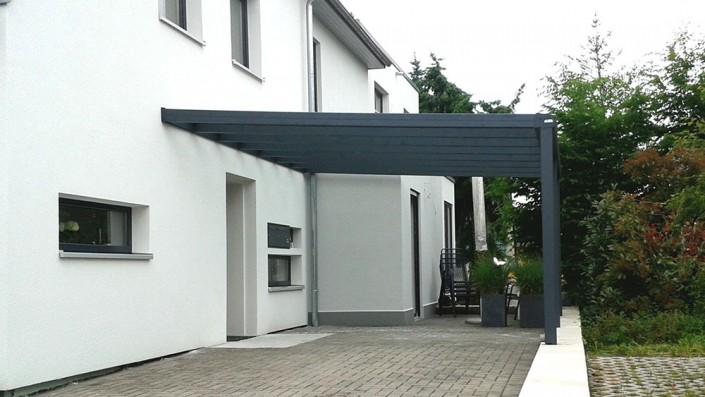 Eingang Überdachung Aluminium