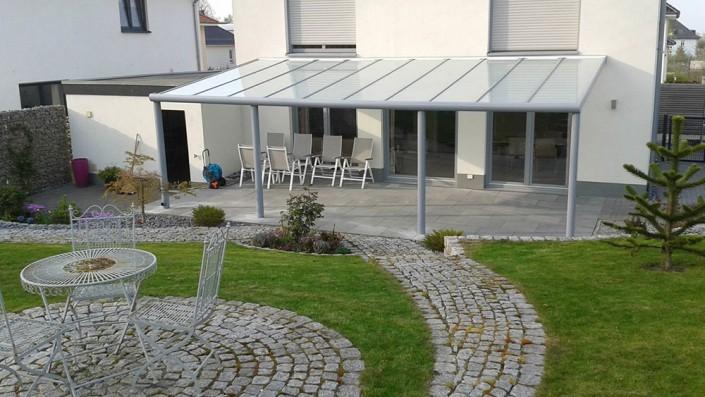 Überdachung Terrasse Garten