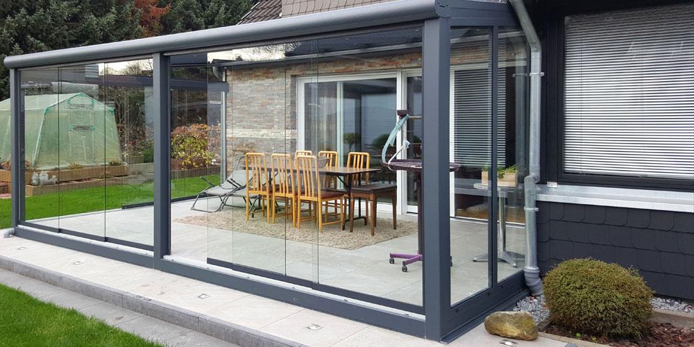 terrasse seitenwand fest und beweglich team is tec ihr spezialist f r alu berdachungen. Black Bedroom Furniture Sets. Home Design Ideas